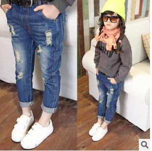 Детски дънки за момичета