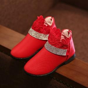 Детски обувки за момичета в 3 цвята