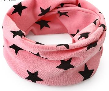 Детски стилни шалчета за момчета и момичета - сини, червени, сиви с шарки