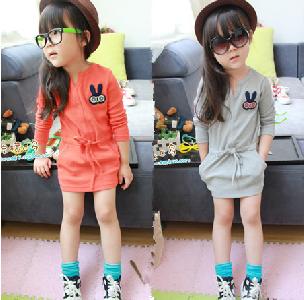Детски небрежни рокли  - 2 модела