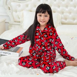 Детски пижами за момичета и момчета 19 модела