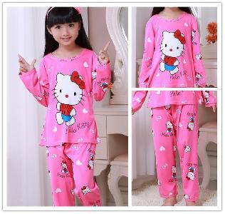 Детски пижами за момимичета и момчета 7 модела