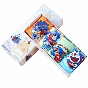 Детски комплект от боксерки и слипове за момчета - миньоните, маймунка, влакче - топ модели в 4 броя