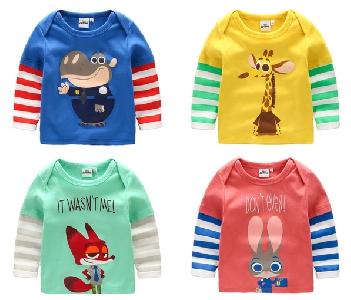 Дисни  Animal Crazy City Kids анимационни тениски в различни цветове
