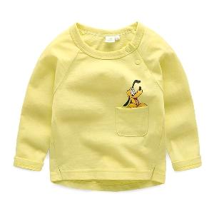 Детска памучна тениска с дисни герой Плуто