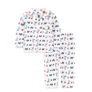Детски пролетни пижами за момчета и момичета в розов,син и бял цвят - различни модели