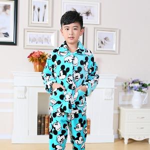 Зимни детски пижами за момчета и момичета - 18 модела