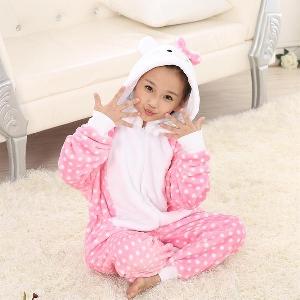 Детска зимна пижама за момчета и момичета - 21 модела