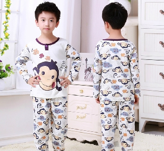 Детска пролетна пижама за момчета - 11 модела