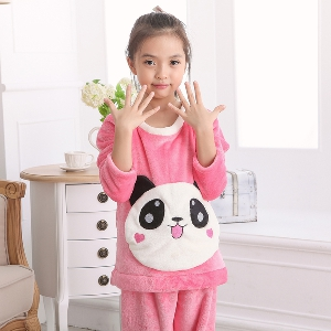 Есенно-зимни детски пижами за момчета и момичета - 15 модела