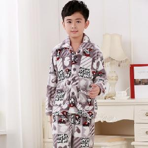 Детски есенно-зимни пижами за момчета и момичета - 4 различни модела