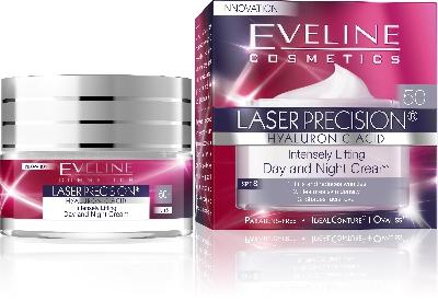 Дневен и Нощен крем 50+ Eveline Laser Precision , 50 мл