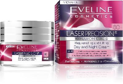 Дневен и Нощен крем 60+ Eveline Laser Precision , 50 мл