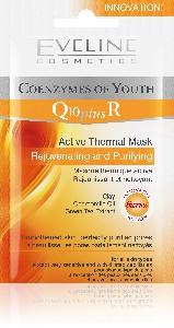Активна термална подмладяваща маска Q10 plus R Eveline, 10 мл