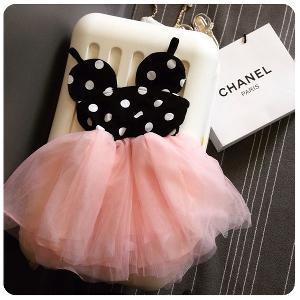 Детска цветна рокля тип Мики Маус