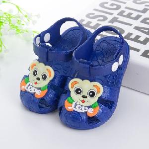 Детски сандали за момичета и момчета в червен и син цвят - 3 модела