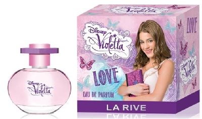Парфюм за момичета Disney Violetta Love, 50 мл