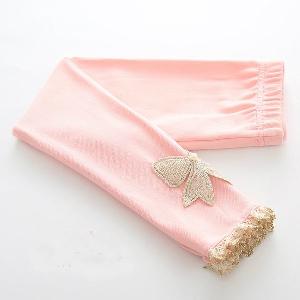 Детски панталони за момичета - 5 модела - пролетни и есенни