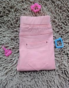 Детски панталони за момичета - жълти, розови, черни, светлосини - стилни и модерни