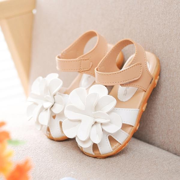 a3c548b3397 Детски сандали с цвете за момичета - Badu.bg - Светът в ръцете ти