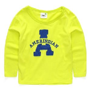 ad8a620fd8c6 Μπλουζάκι με μακριά μανίκια για αγόρια σε μαύρο, κόκκινο, κίτρινο και  πορτοκαλί χρώμα με