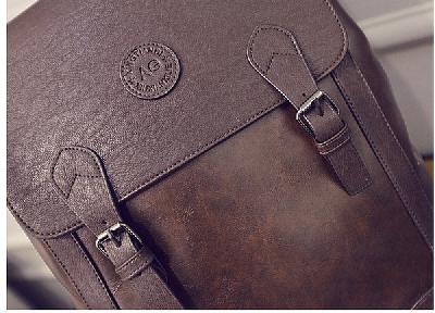 Стилни бизнес раници за мъже и жени в кафяв и черен цвят - 2 модела