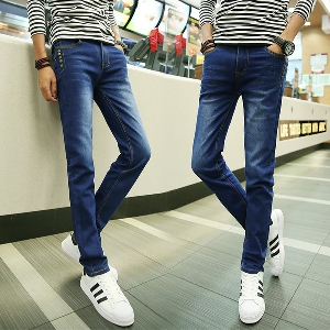 Мъжки дънки в няколко топ модела с и без кадифе за пролет, есен и зима