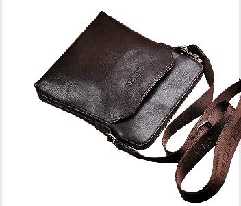 5adef64605 Επαγγελματική ανδρική τσάντα σε καφέ και μαύρο χρώμα - 3 μοντέλα ...
