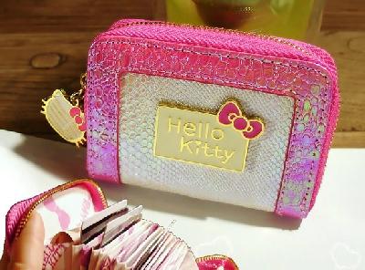 Γυναικών πορτοφόλι τσέπη - HELLO KITTY