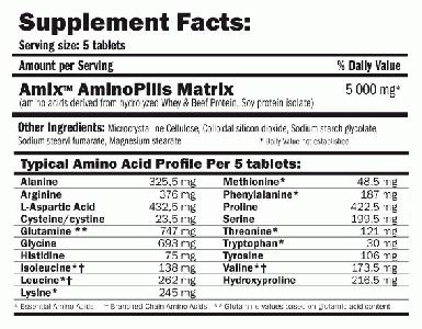 AMIX Amino Pills 660 табл. /  Аминокиселини