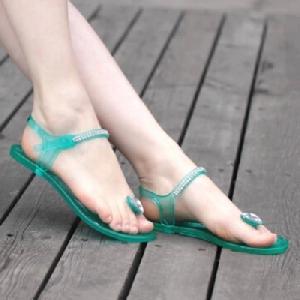 Дамски сандали с камъчета 3 цвята