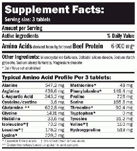 AMIX Beef Amino 550 табл. / Аминокиселини
