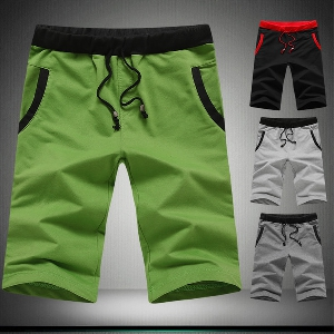 Летни къси панталони за мъже от памук - 5 модела