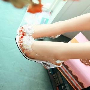 Дамски полупрозрачни сандали 3 цвята