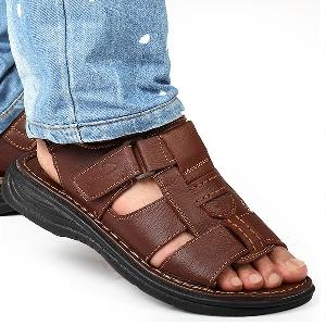 Мъжки сандали два модела два цвята