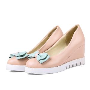 Дамски ежедневни обувки на платформа  три цвята.