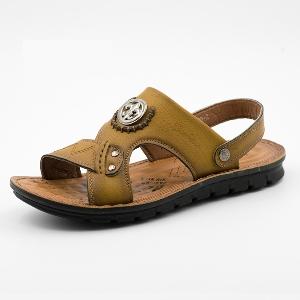 Мъжки сандали 2 модела три цвята
