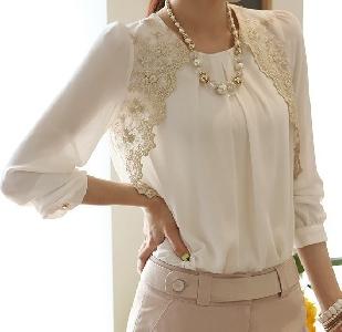 Елегантна дамска блуза
