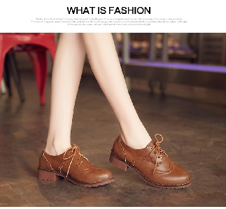 Ретро обувки Оксфорд- четири цвята.