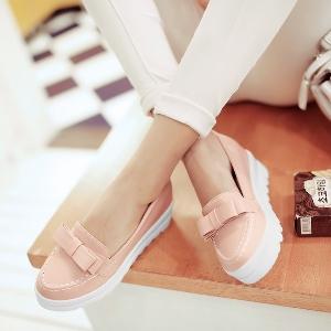 Ежедневни обувки на платформа в три цвята