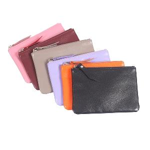 Οι γυναίκες χαρτοφυλάκια των συνθετικό δέρμα σε μαύρο, ροζ, κόκκινο, γκρι, μοβ και πορτοκαλί