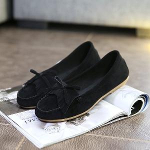 Пролетни  велурени обувки -два модела шест цвята.