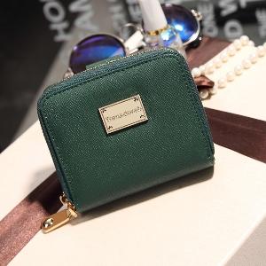 Γυναικείο πορτοφόλι σε μαύρο, ροζ και πράσινο - 3 μοντέλα