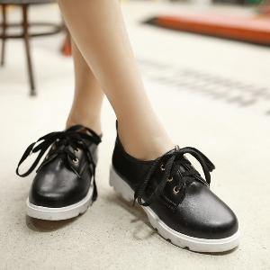 Дамски ежедневни обувки с връзки: Бели, Черни, Розови