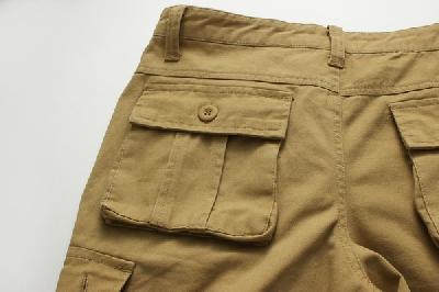 Памучни къси панталони  за мъже - 5 модела