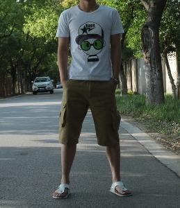 Мъжки летни карго шорти - 3 модела