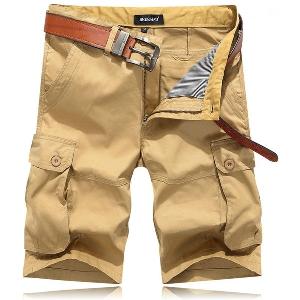 Летни цветни къси карго панталони - 6 модела