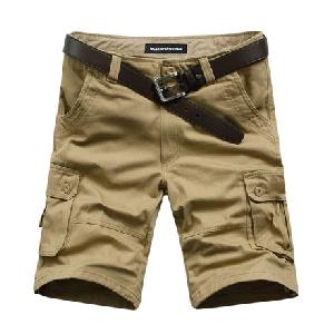 Мъжки цветни  и камуфлажни къси панталони - 9 модела