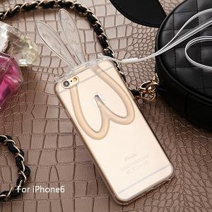Прозрачни протектори за телефони с ушички в 3 цвят подходящи за iPhone6, iPhone 6 plus и iPhone5/5S