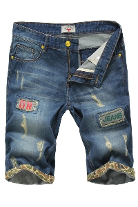 Къси дънкови панталони за мъже - 5 модела